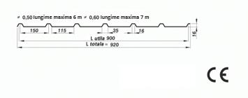 tabla cutata hala industriala t16 sec